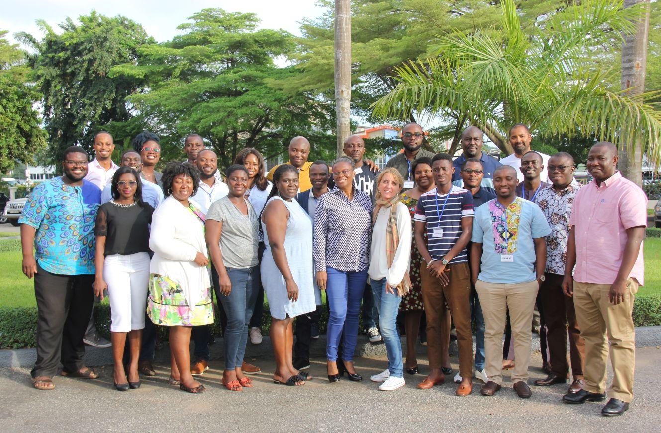 Self Leadership Backbone making a difference in Ghana